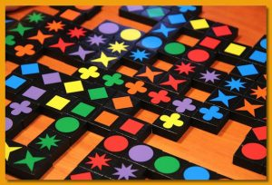 Qwirkle-game-pieces